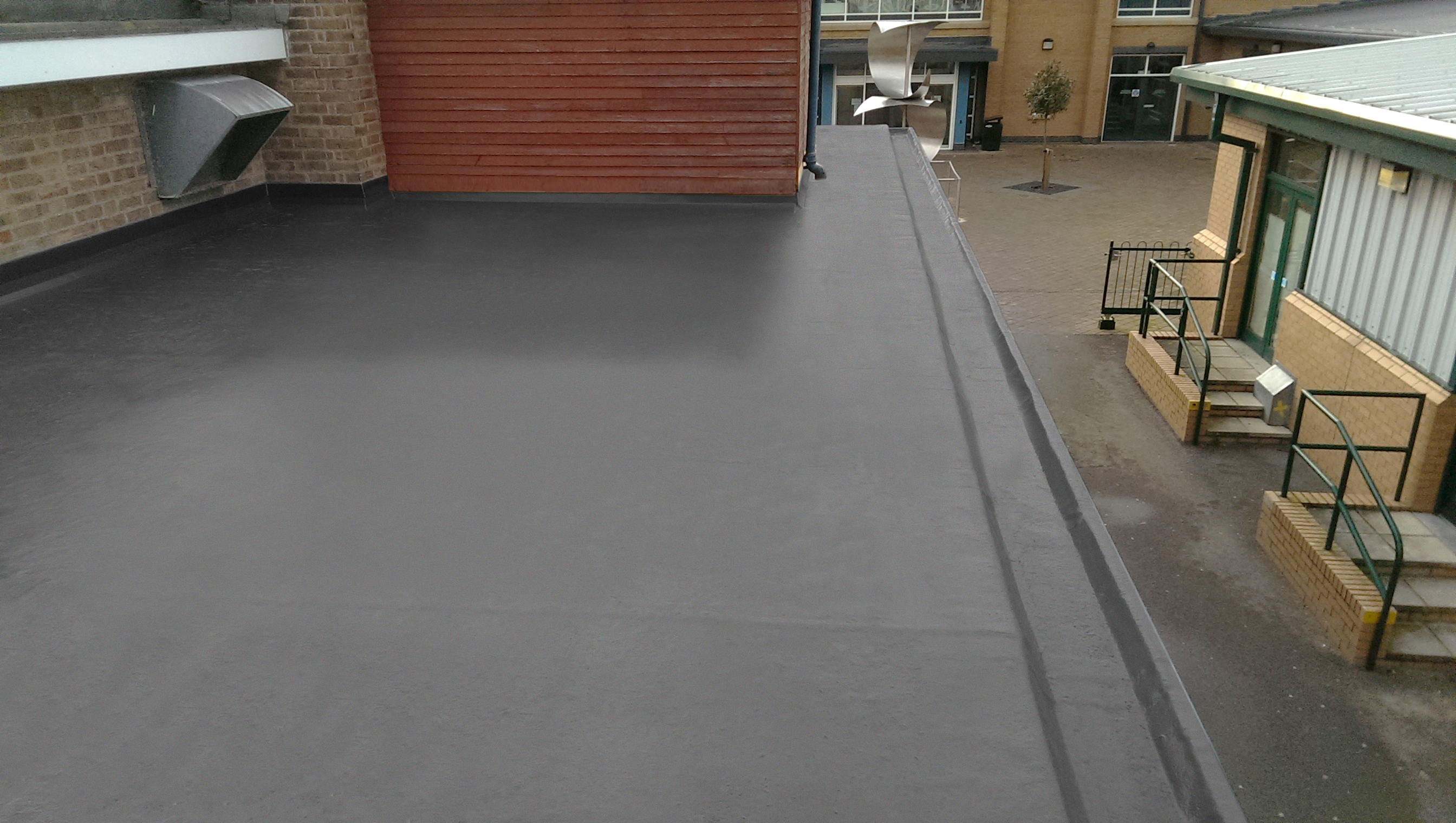 Topseal Direct Lay Peter Dodds Roofing Maintenance Ltd