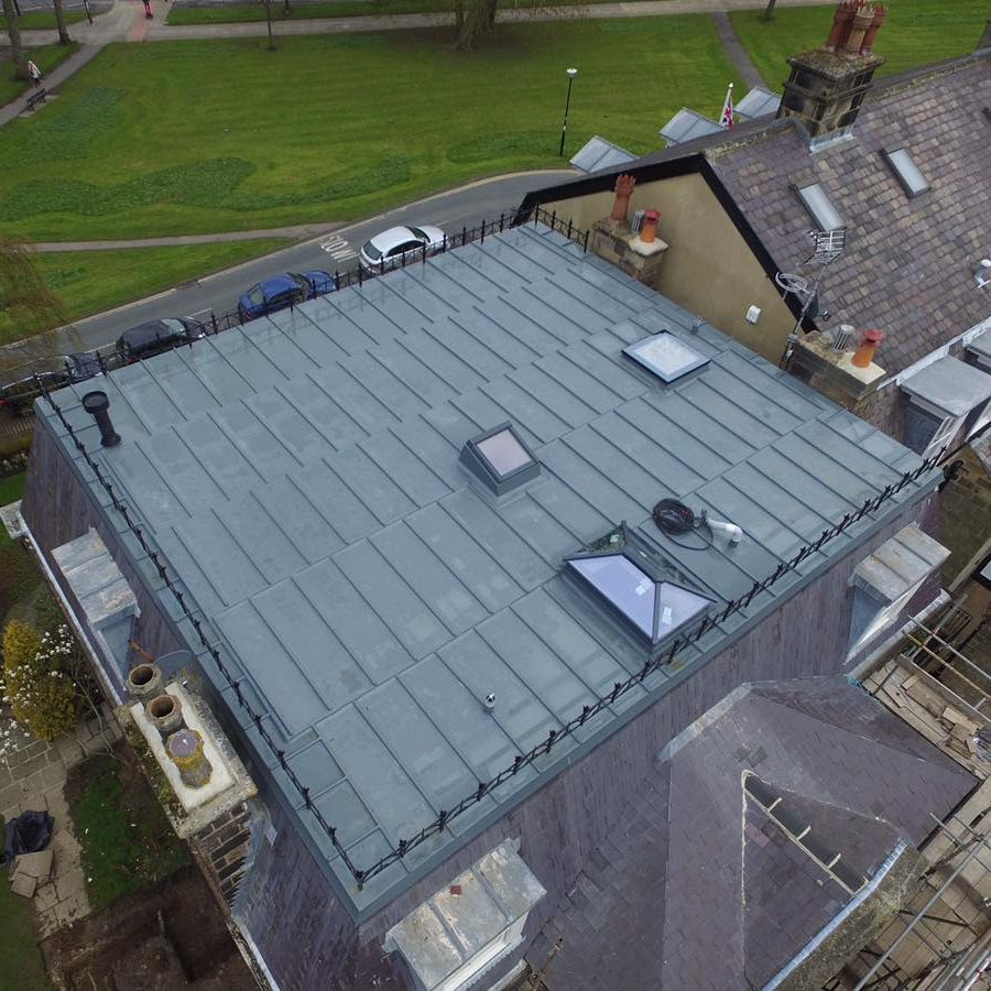 Topseal simulated lead by peter dodds roofing in harrogate